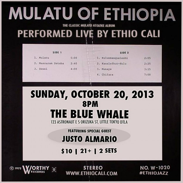 Mulatu of Ethiopia performed live by Ethio Cali