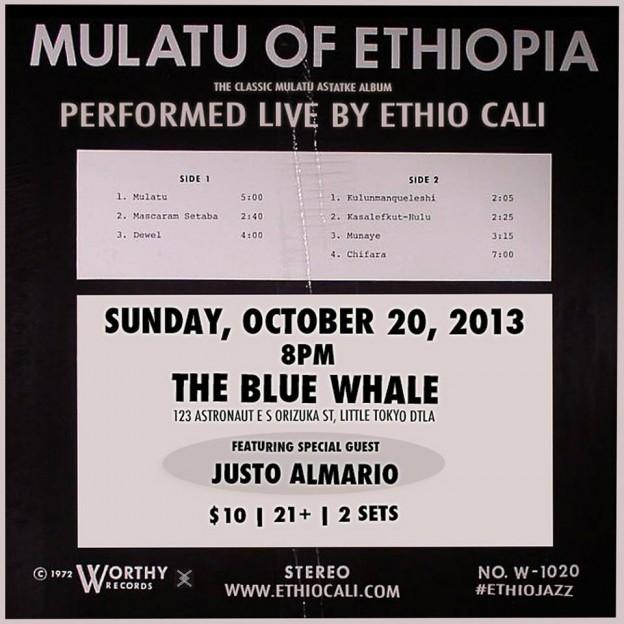 Mulatu of Ethiopia performed live by Ethio Cali