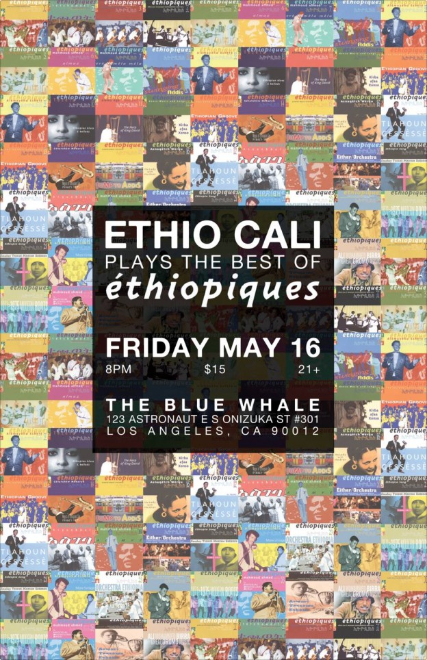 ETHIO CALI PLAYS THE BEST OF ÉTHIOPIQUES!