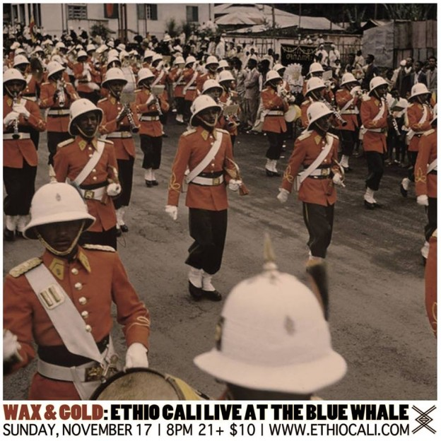Wax & Gold - Ethio Cali At The Blue Whale